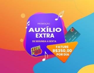 Cadastrar Promoção Auxílio Extra FM