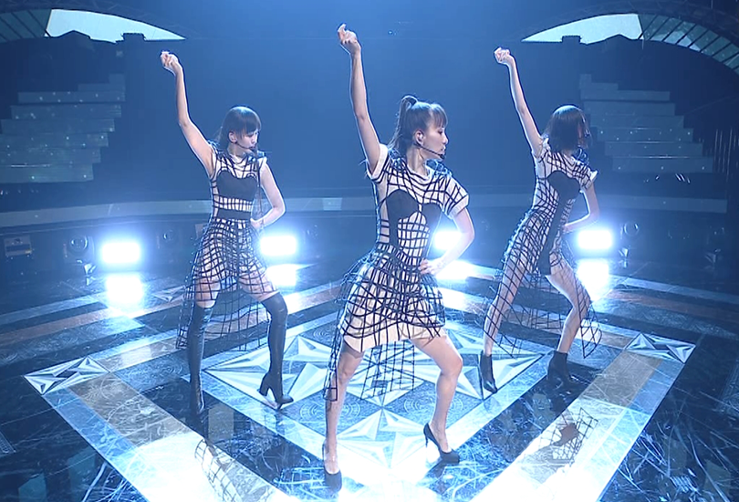 """Perfume perform """"Polygon Wave"""" for the first time, and Nocchi gets her whole entire life 