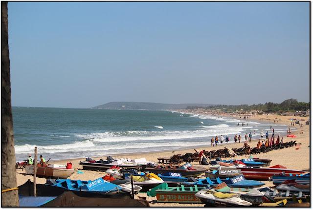 Goa, sinquerim beach