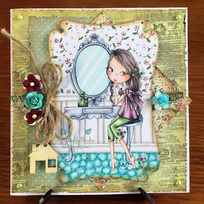 All Dressed Up stamps Mirror Mirror