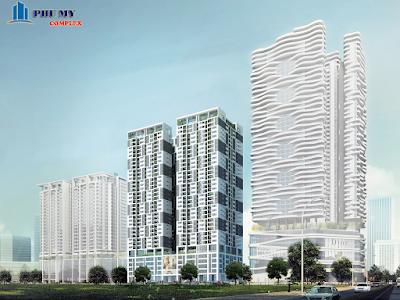 Phối cảnh dự án Phú Mỹ Complex