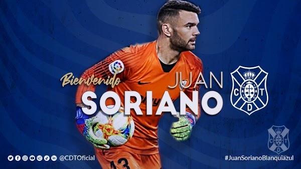 Oficial: Juan Soriano firma por el Tenerife