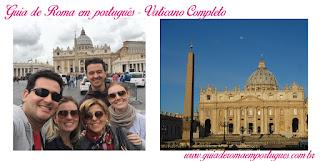 Passeio com guia em português ao Vaticano - Praça São Pedro