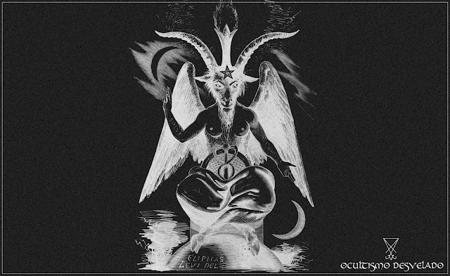 Baphomet, livros sobre ocultismo.
