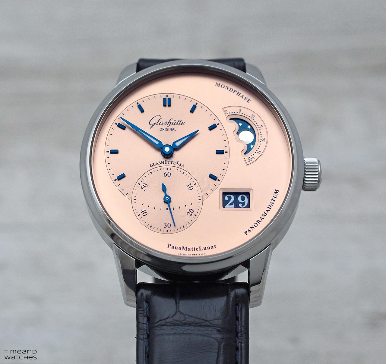 Hands On Review Glashutte Original Panomaticlunar Time And