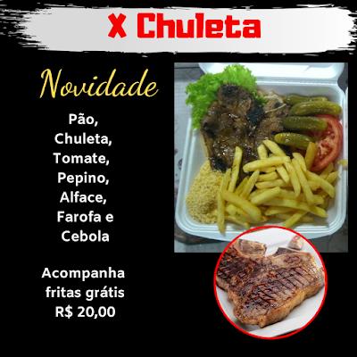 X Chuleta R$ 20,00
