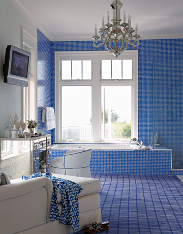 To Da Loos Blue Washrooms Celebrating My Favorite Colour