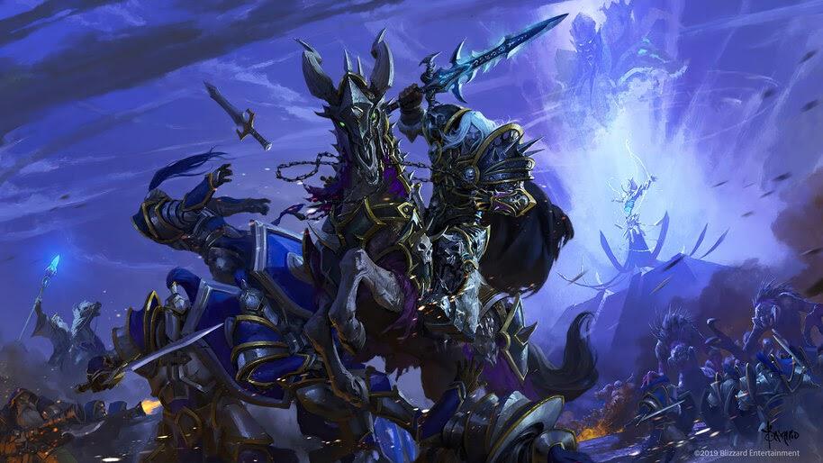 Arthas Menethil, World of Warcraft, 4K, #3.2705