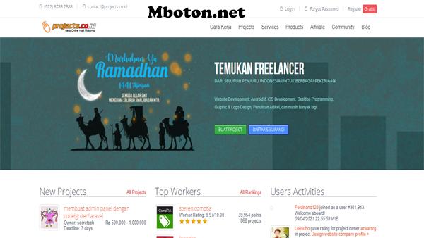 Projects.co.id salah satu diindonesia sudah terkenal sebagai Perusahaan PT. Panonpoe Media menyediakan job berbagai macam – macam anda bisa temui freelance job yang sesuai kriteria anda untuk mendaftarkan diri anda sebagai ikut kerja freelance job online