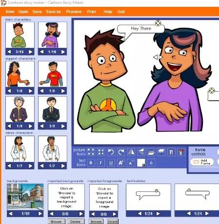 5 Software Untuk Membuat Komik Strip Gratis Terbaik Brankaspedia Blog Tutorial Dan Tips