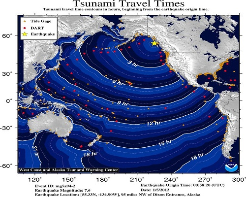 Tsunami_travel_time_Alaska_canada_earthquake_2013