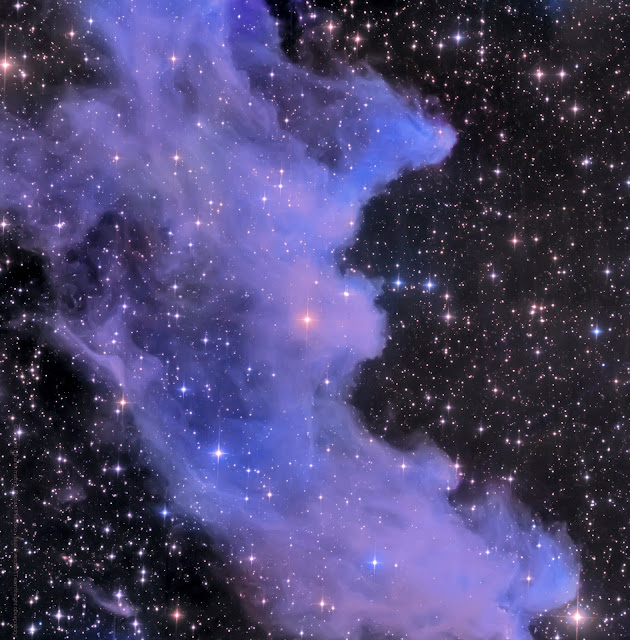 "NGC 1909 (IC 2118) - The Witch Head Nebula imaged on Insight Observatory's 16"" f/3.7 astrograph reflector and processed by Utkarsh Mishra. Complimentary image set available on Insight Observatory's image set repository, Starbase."