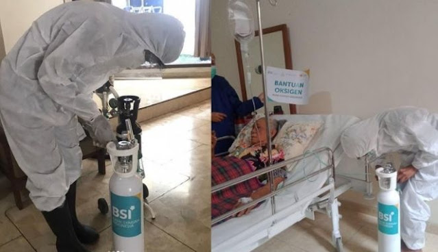 Program Tabung Oksigen Bagi Warga Isoman di Rumah