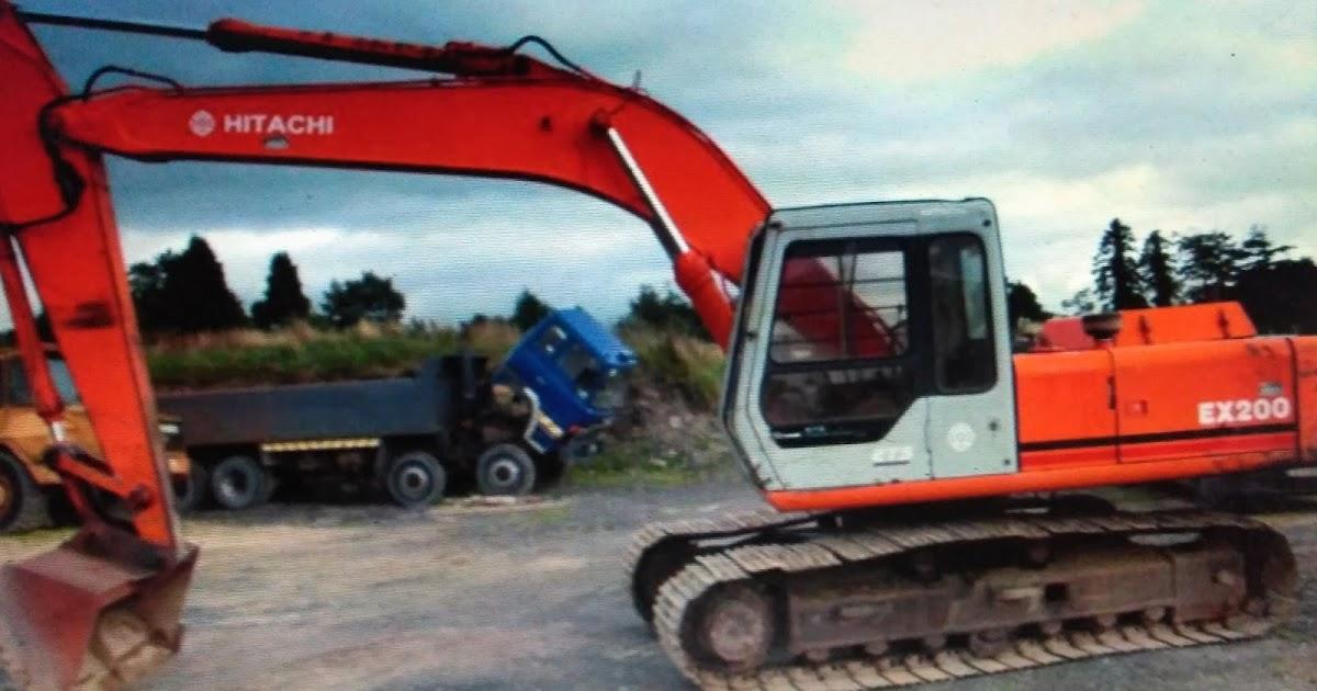 Ex 210 Excavator Manual