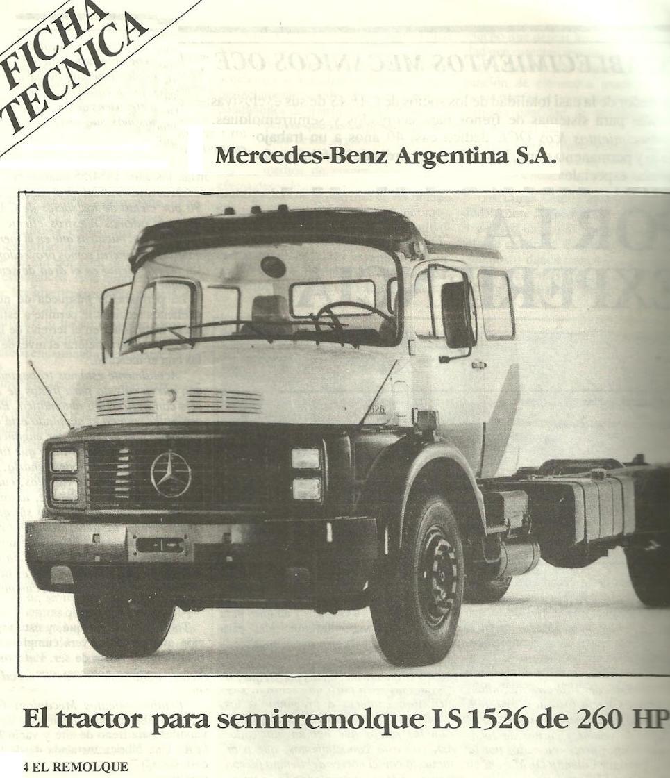 Cami n argentino mercedes benz l ls 1526 for Mercedes benz of wilmington de