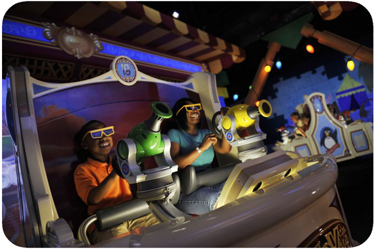 Disney World Hollywood Studios Toy Story Video Game Ride