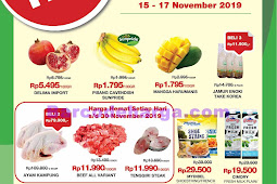 Katalog Promo Farmers Market Weekend 15 - 17 November 2019