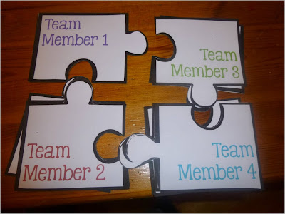 Guest blog post from Elementary AMC who is showing us some fun ideas for how to set up Partner Groups!