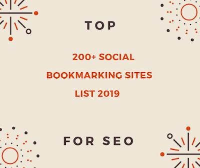 Top 200+ Best PR-5 Do Follow Social Bookmarking Sites list 2018-2019