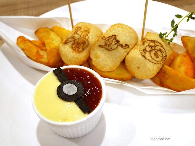 Pokemon Cafe's fried potato - RM29.90
