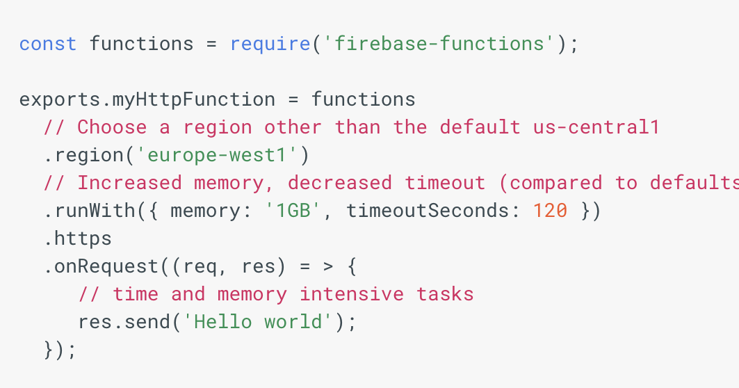 The Firebase Blog: New runtime configuration options with