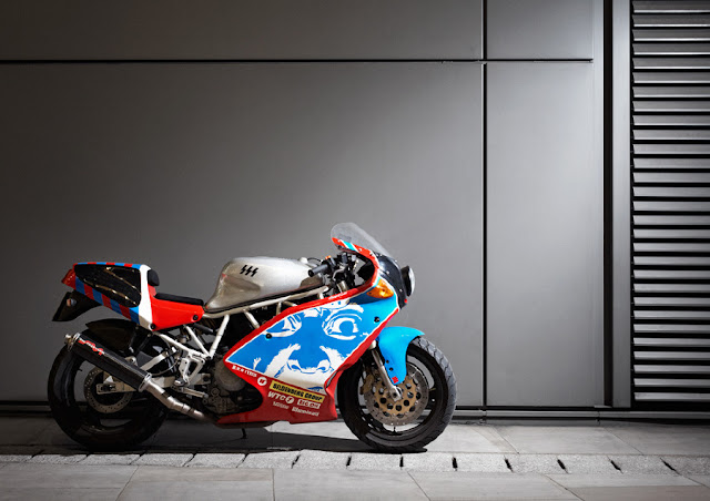 Paranoia Racing Ducati SSS By Death Spray Custom Photo By Neil Bridge