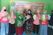 PKM Muhammadiyah Beri Pelatihan Ibu Buat Pembalut Ramah Lingkungan, Dukung Program Zero Waste