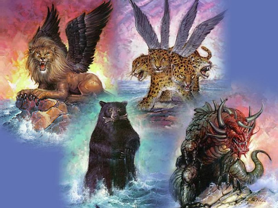 Daniel's dream of the four beasts represented four kingdoms, Babylon, Medo-Persia, Greece, and Rome full of 'Terrible People'.