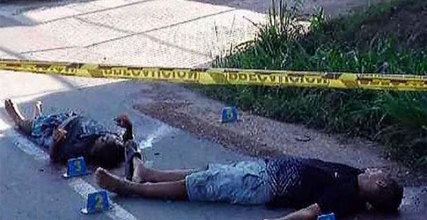 Encuentran dos cadáveres tiroteados en una calle de Villa de Cura