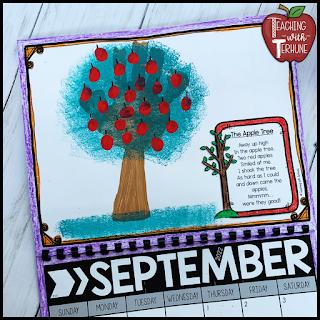 Apple Tree Handprint