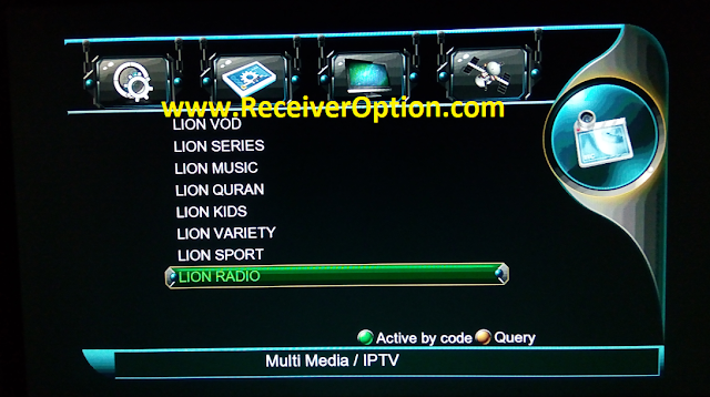 LION 1506TV 512 4M NEW SOFTWARE WITH NASHARE PRO & GO SAT PLUS OPTION