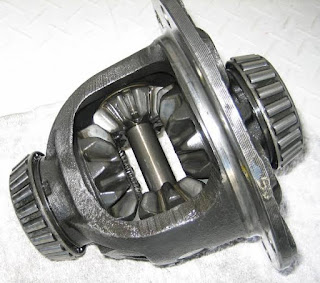 Open differential