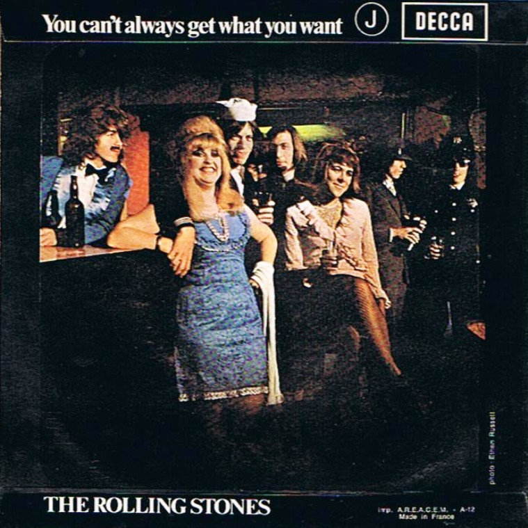 You can't always get what you want. The Rolling Stones