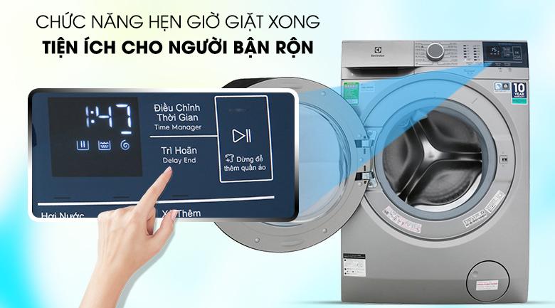 Hẹn giờ giặt xong - Máy giặt Electrolux EWF9024ADSA
