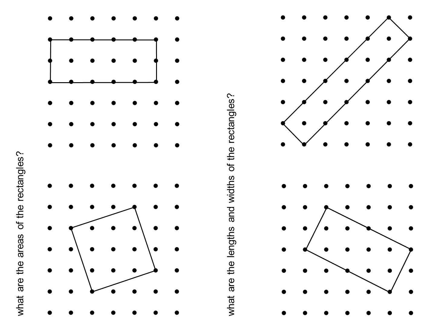MEDIAN Don Steward mathematics teaching: grid rectangles