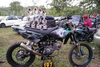 Kumpulan Gambar Yamaha Jupiter Modifikasi Trail GTX Grasstrack Paling Keren Buat Inspirasi