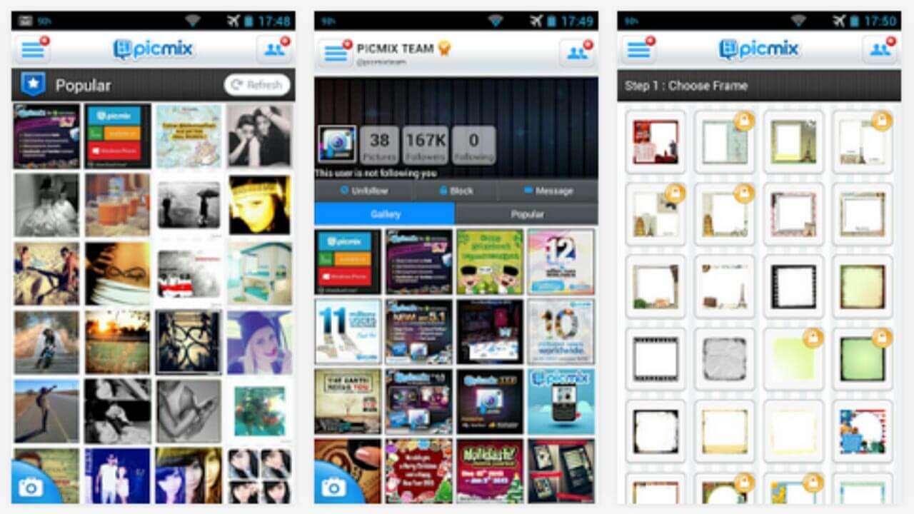 تطبيق PicMix