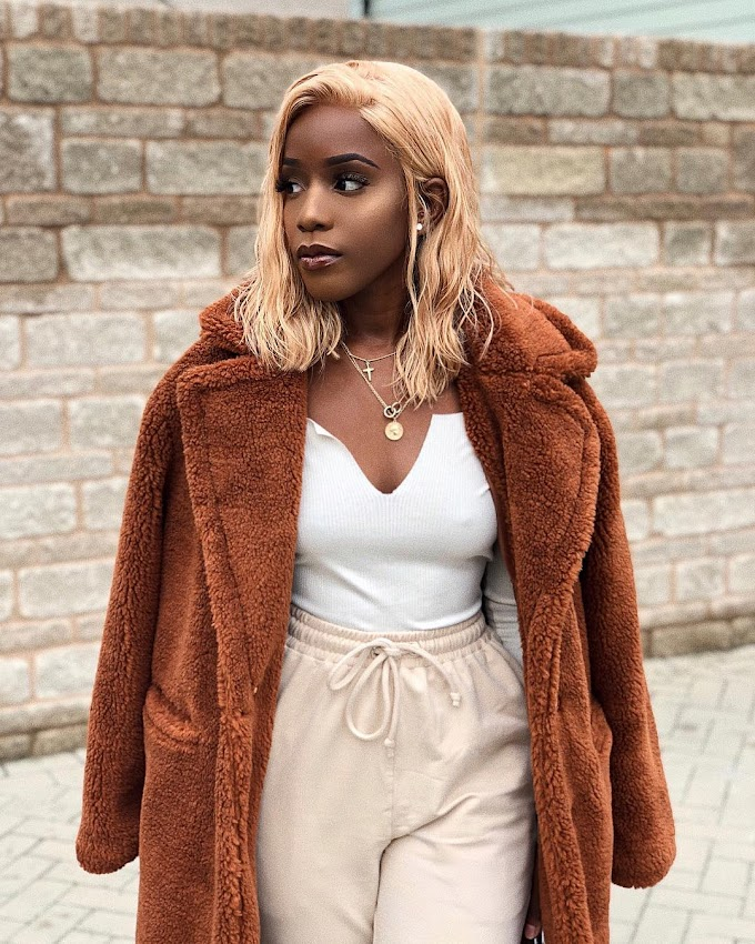 @Rlt__ Styled Her Teddy Coat Two Ways; Choose One.