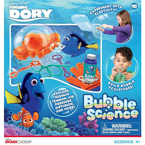 Disney Pixar Finding Dory Bubble Science