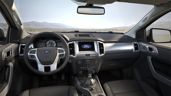 Ford Ranger 2020 Interior