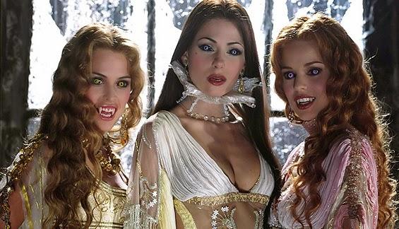 la representación de las vampiresas en la literatura
