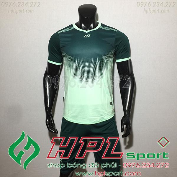 Áo ko logo CP hnet màu xanh ngọc