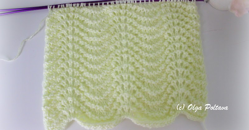 Knitting Placeholder No Stitch Made : Bluebell Crafts: Another Knitting Stitch, Simple Pattern