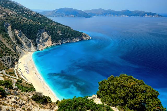 Praia de Myrtos, Cefalônia