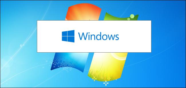 مثبت Windows 10 على صورة خلفية Windows 7.