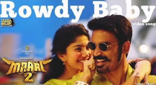 Rowdy Baby Song Lyrics   Dhanush, Sai Pallavi   Maari 2