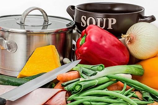 Sopas de verduras para bajar de peso en 6 días
