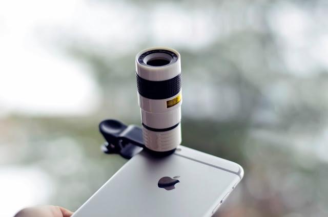 Teleskopowy obiektyw zoom 8x | TEST + KONKURS