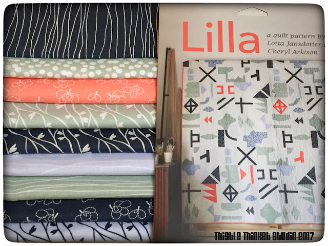 Lilla Fabric & Pattern Prize Won by Thistle Thicket Studio. www.thistlethicketstudio.