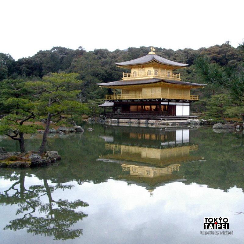 【金閣寺】日本風景的代表 金光閃閃金閣寺